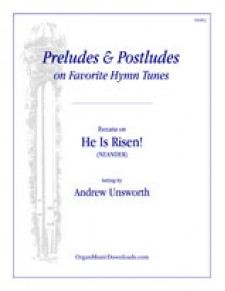 He Is Risen!, Toccata on