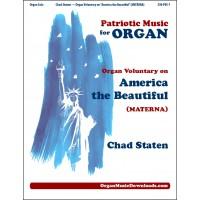 America the Beautiful, Organ Voluntary on