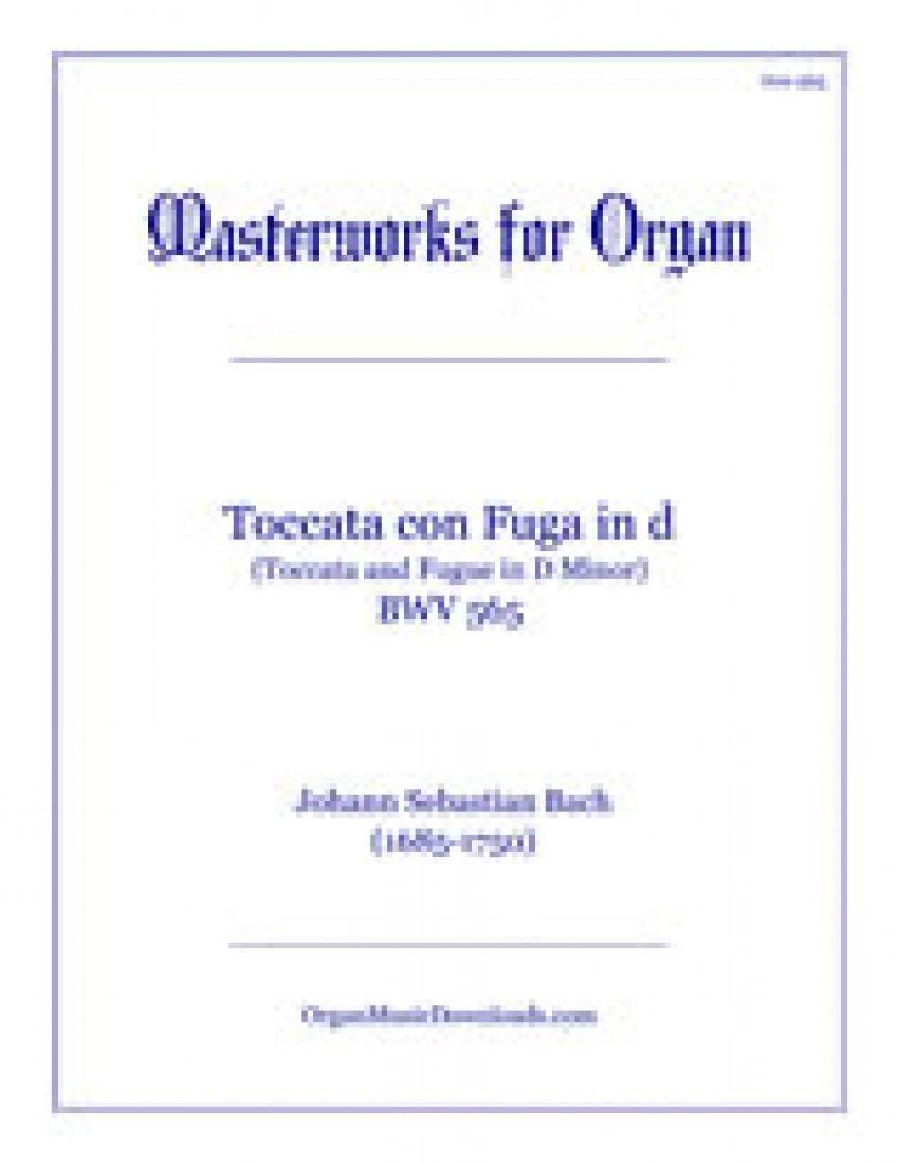 toccata and fugue piano sheet music pdf