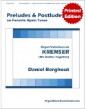 KREMSER (Prayer of Thanksgiving), Variations on
