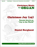 "Christmas Joy (x5) [Toccata brevis on ""Joy to the World""]"