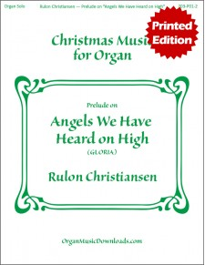 Angels We Have Heard on High (GLORIA), Prelude on