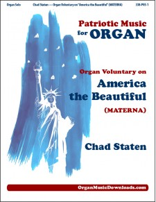 America the Beautiful, Organ Voluntary on