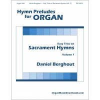 Easy Trios on Sacrament Hymns - Volume 1