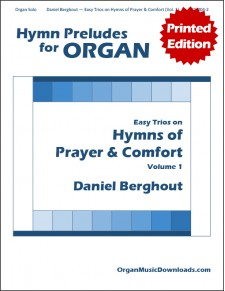 Easy Trios on Hymns of Prayer & Comfort - Volume 1
