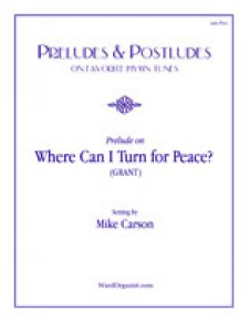Where Can I Turn for Peace?